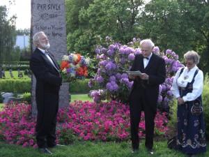 Rolf Ødegaard, Karl Anders og Eldfrid Hovden